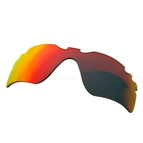 オリジナルブランド ZERO オークリー サングラス用交換レンズ RADAR PATH レーダーパス RED MIRROR VENTED