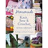 img - for HOMEMADE KNIT SEW CROCH PB book / textbook / text book