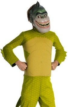 Monsters Vs. Aliens Child's Deluxe Missing Link Costume