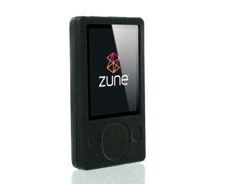 "PCMICROSTORE Brand (2nd Generation) Microsoft Zune 80GB, Zune 4GB and Zune 8GB Premium Silicone Skin Case with 14"" Adjustable Sports Armband - 9 Color Choices"