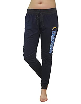 NFL Womens Team Logo Lounge / Yoga Pants - SAN DIEGO CHARGERS