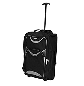 Chancery Cabin Bag Lightweight Wheeled Bag Flight Suitcase Case Hand Luggage Trolley Holdall