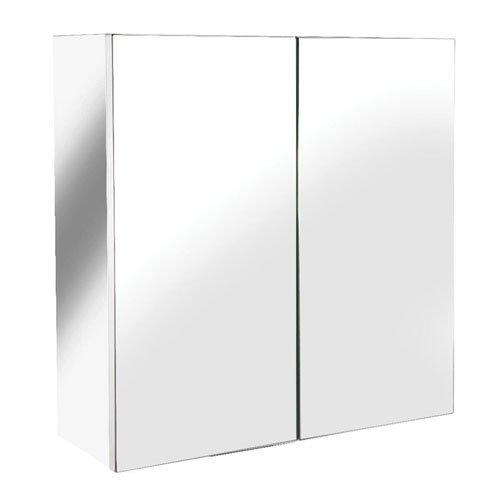 croydex-avon-armoire-2-portes-inox