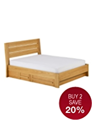 Sonoma Light Storage Bedstead