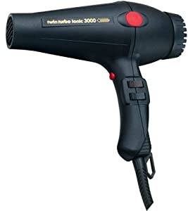 TURBO POWER Twin Turbo Ionic 3000 Hair Dryer #322 [Health and Beauty]