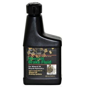 Finish Line High Performance Mineral Oil Brake Fluid 8oz Bottle