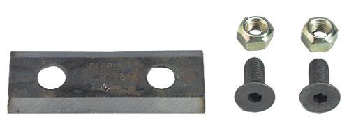 Zubehör Flach Messer Euro, silber