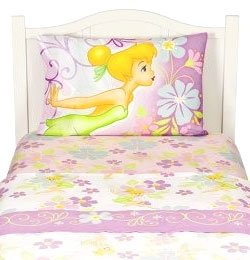 Amazon.com - 3pc Tinkerbell Sugar Tink Twin Bedding Sheets ...