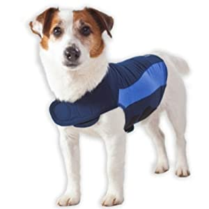 Blue Polo Thundershirt by Thundershirt