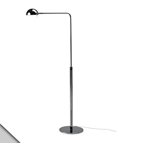Ikea Ikea 365 Brasa Floor Reading Lamp Chrome Plated