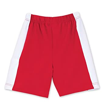 Buy Chez Ami by Patsy Aiken Designs Boys Tennis Club Short Red & White by Patsy Aiken Designs