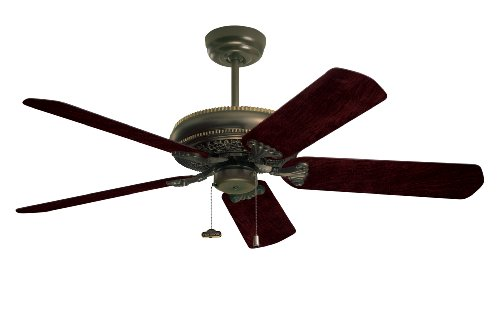 Emerson Cf4500Ges Crown Indoor Ceiling Fan, 50-Inch Or 42-Inch Blade Span, Golden Espresso Finish