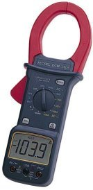 Clamp on Amp Meter (1000A AC/DC) - Tecpel DCM-2605