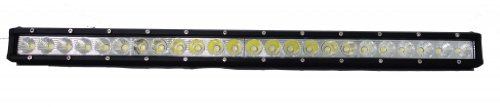 """Wicked Racing 25"""" 120W Slim Line Led Light Bar Single Row Series Off Road Led Driving Work Light Bar -3W Led Lumen Great For Jeep Cabin/Boat/Suv/Truck/Car/Atv"""