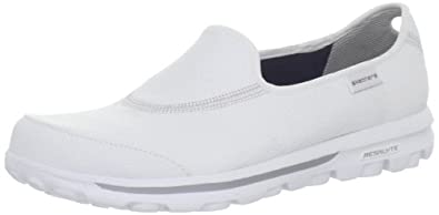 Skechers Women's Go Walk Ultimate Walking Shoe,White,5 M US