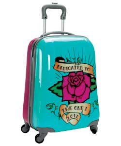 Pink Cookie Dedicated 4 Wheeled Suitcase Small