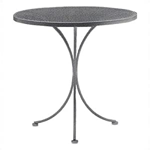 Mesh Top Bistro Table Finish: Sandstone, Size: 42""