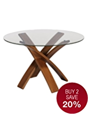 Jasper Dining Table Walnut