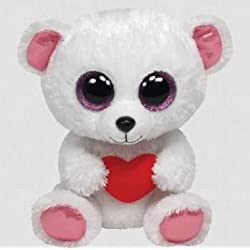 [Best price] Stuffed Animals & Plush - Ty Beanie Boos Sweetly - Polar Bear - toys-games