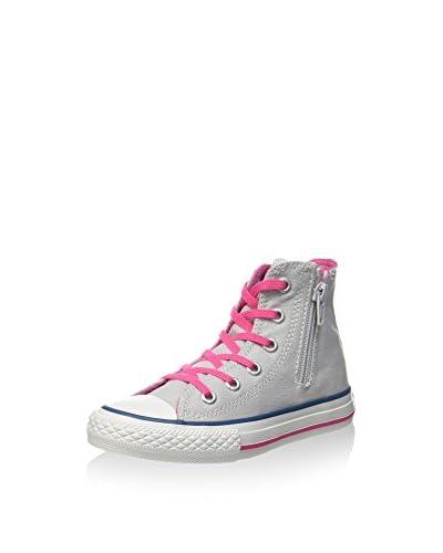 Converse Zapatillas abotinadas All Star Hi Canvas Side Z - H2 Gris / Rosa