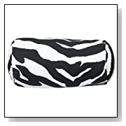 Zebra Neckroll Pillow -6x12