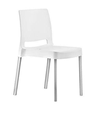 Pedrali Set Sedia 4 pezzi Joi 870 Bianco