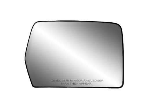 Fit System 80194 Passenger Side Non-heated Replacement Mirror Glass with Backing Plate