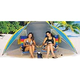 Rio Portable Cabana Beach Hut Beach Shelter SPF 50
