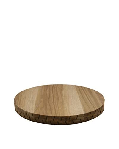 Canvas Home Round Board with Scorched Edge