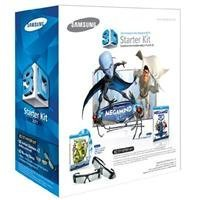 Samsung 3D Starter Kit - 2 pairs of Black 3D active glasses SSG-3100m/za