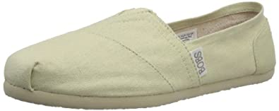 Skechers Women's Bobs Earthday Flat,Natural,5 M US