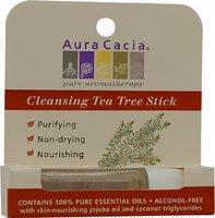 AURA CACIA, Aromatherapy Stick Cleansing Tea Tree - .29 oz