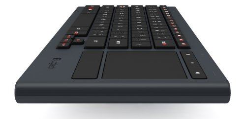 Logitech Illuminated Living-Room Wireless Keyboard K830 and Touchpad for Internet-Connected TVs (920-006081)
