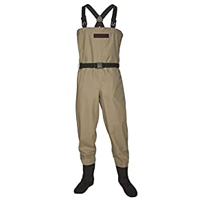 Redington Crosswater Fishing Wader, Tan, Medium