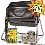 Achla Compost Tumbler Grip-EZ Value Kit