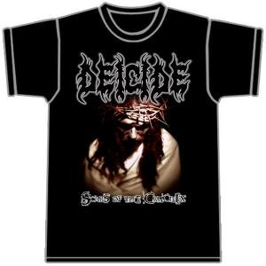 Deicide Scars Of The Crucifix T-shirt - Small