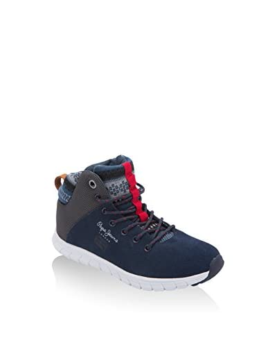 Pepe Jeans London Zapatillas abotinadas Coven Boot Azul Marino