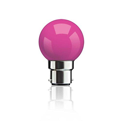 0.5 W B22 LED Bulb (Pink)