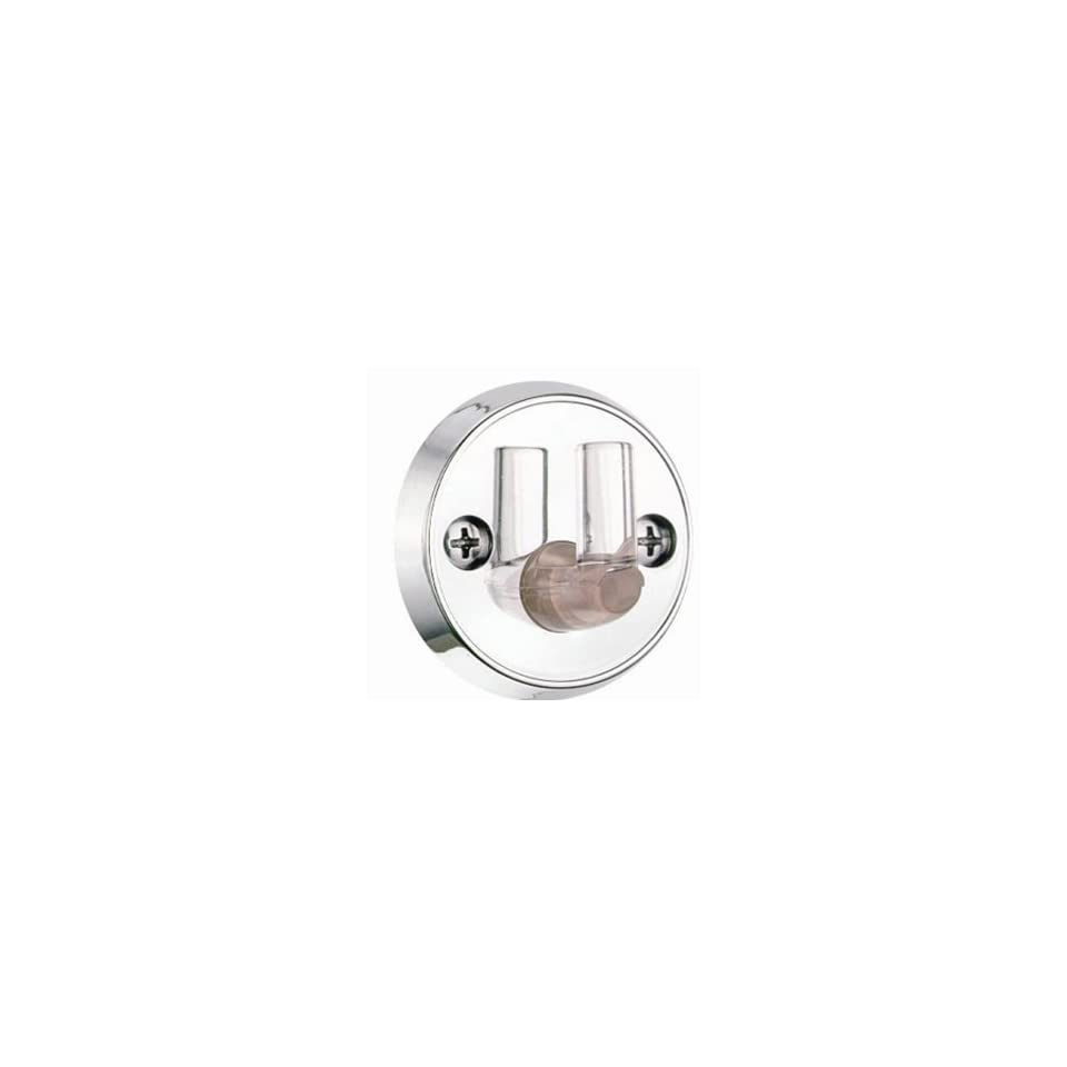 Alsons 5001 Chrome Wall Mount Bracket with Clear Pin
