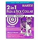 Hartz Mountain CHZ90745 F and T Cat Collar, 13-Inch, Purple