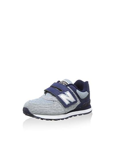 New Balance Sneaker NBKV574YGP [Grigio/Blu]