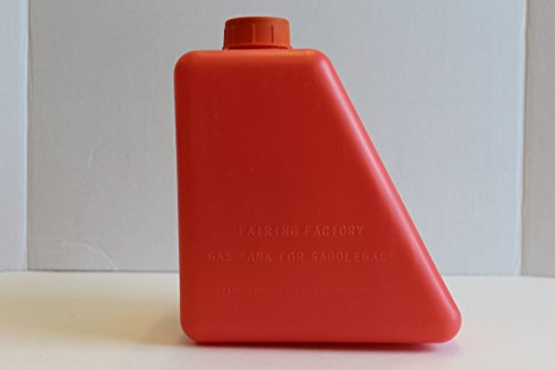1 GALLON HDPE PLASTIC GAS CAN FOR HARLEY DAVIDSON TOURING SADDLEBAGS (Saddlebag Gas Can compare prices)