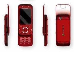 Sony Ericsson F305 FIFA'09 Edition rot Handy
