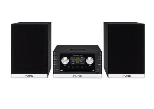 Pure Digital SIROCCO550SP Pure Dab\/Wifi CD Micro Hifi inc. Speakers