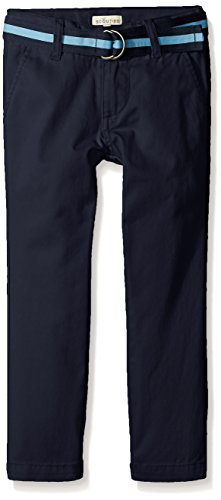 Scout + Ro Boys' Washed Twill Pant, Swim Navy, 10 (Scout Belt compare prices)