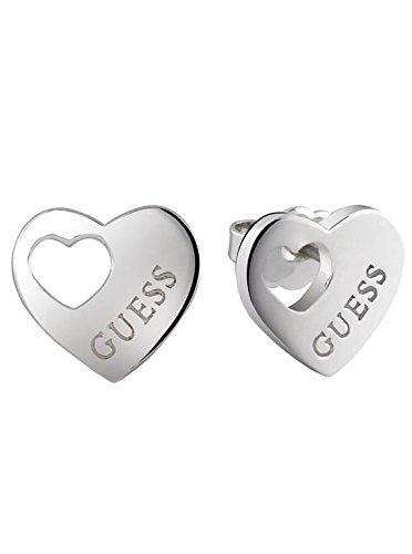 Guess-Orecchini cuore (ube82039), lega, cod. 27-UBE82039