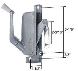 Left Hand Awning Window Operator For Miami Windows front-560685