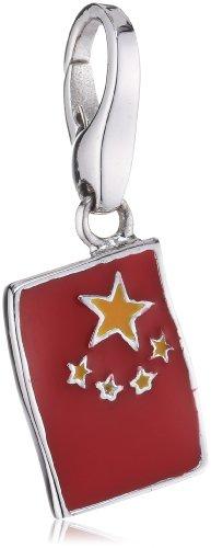 Giorgio Martello Charm Silver 558-809099 Lucky Flag China