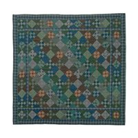 """Chambray 9 Patch Quilt Luxury King 120"""" x 106"""" QLKCH9P by Patch Magic"""