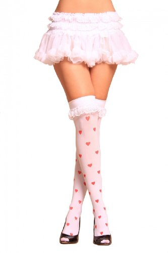 Lovely Day Lingerie LDL-PC1167, White Ruffle Petticoat-2